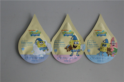 Plastic Pouch Bag For Cosmetic Pb 4