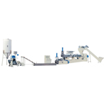 Plastic Recycling Extrusion Line