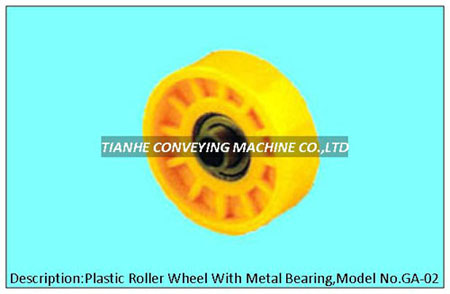 Plastic Roller Wheel With Precision Metal Beaing Skate Bearing Track