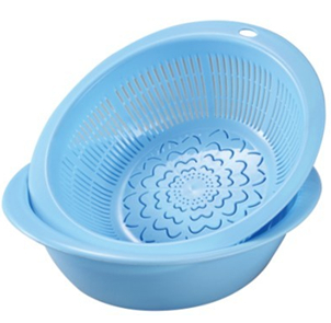 Plastic Round Vegetable Colander