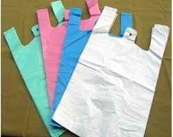 Plastic Shopping Bag Customized Supermarket