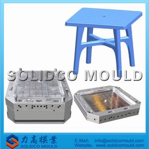 Plastic Table Mould Square Injection