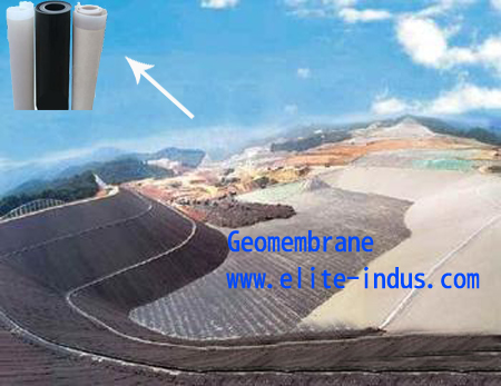 Plastic Waterproofing Geomembrane Pvc