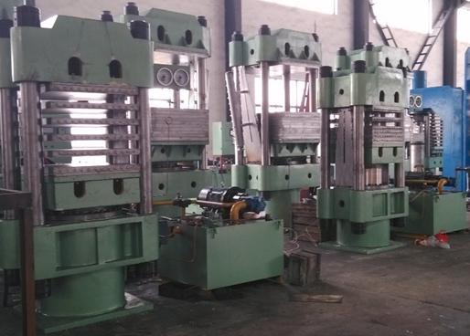 Plate Vulcaning Press