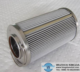 Pleated Filter Mesh Woven Wire Stainless Steel