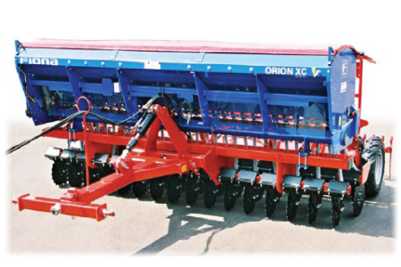 Ploughing And Sowing Machine