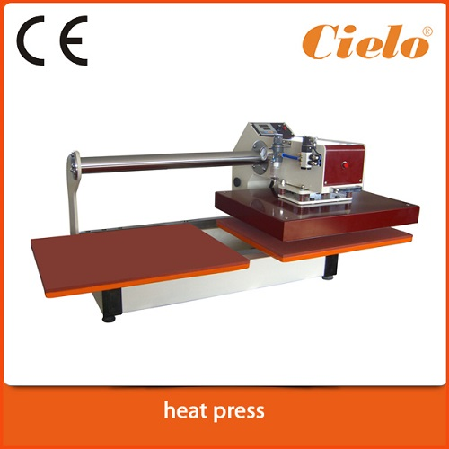Pneumatic Accuracy Heat Press Machine