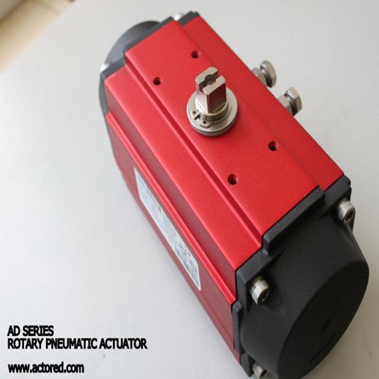 Pneumatic Actuator Rack And Pinion Control Valve