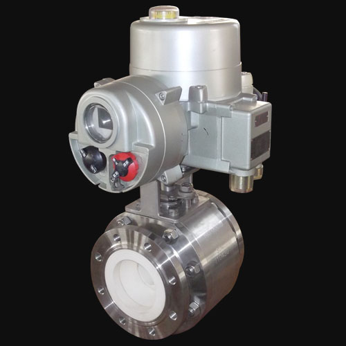 Pneumatic Ceramic Lined Ball Valves