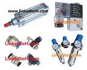 Pneumatic Components Neumatic Cylinder Solenoid Valve Air Fitting