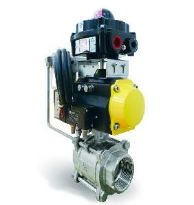 Pneumatic Control Ball Valves Dn15 To Dn400