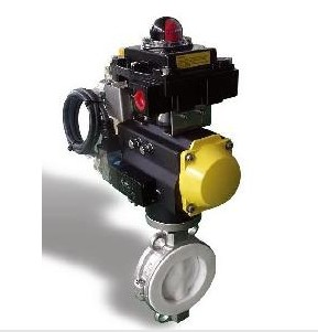 Pneumatic Control Butterfly Valves Dn15 To Dn400