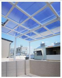 Polycarbonate Shutter Twin Wall Sheet Sun Asia