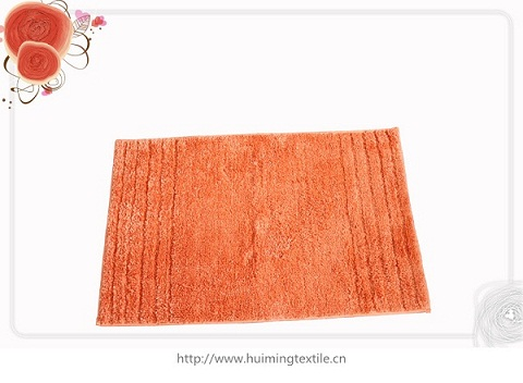 Polyester Bath Rugs With Latex Backing Promotional Place Mat