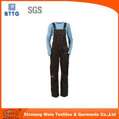 Polyester Cotton Working Garment Bib Pants For Welding Industry
