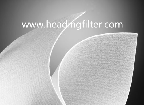 Polyester Nonwoven Needle Punched Felt Filter Bag