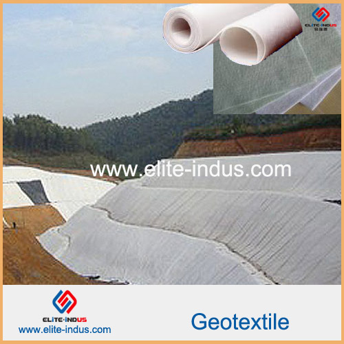 Polyester Pet Filament Spunbond Needle Punched Nonwoven Geotextile Fabric