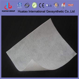 Polyester Staple Fiber Nonwoven Geotextile