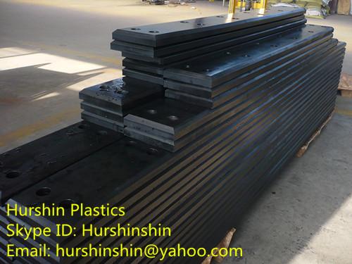 Polyethylene Frontal Board On Dock Fender
