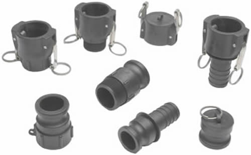 Polypropylene Camlocks Most Chemicals And Acid Solvents