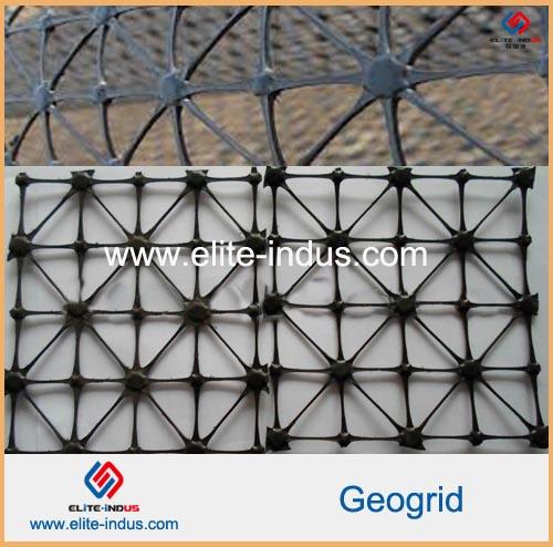 Polypropylene Triaxial Frp Pp Quaxial Geogrid