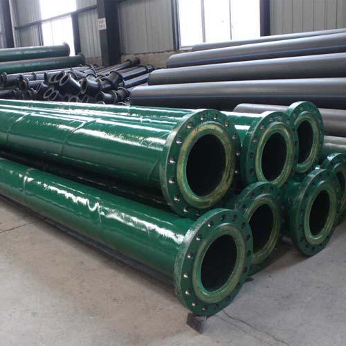 Polyurethane Lining Wear Resistance Steel Pipe