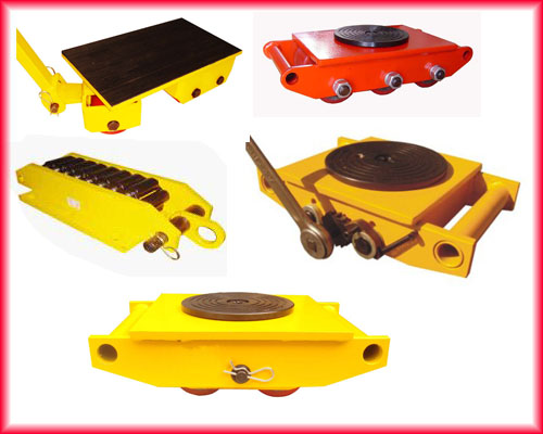 Polyurethane Roller Dolly 3 36 Tons Capactity