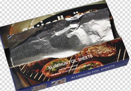 Pop Up Foil Sheets For Food Packing