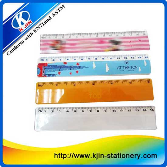 Popular Fashion Flexible Plastic Rulers For Kids
