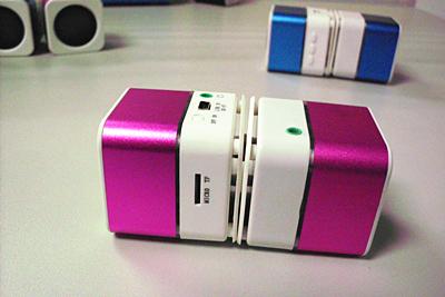 Portable Double Cubic Speaker