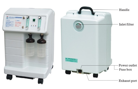 Portable Oxygen Concentrator For Home Use