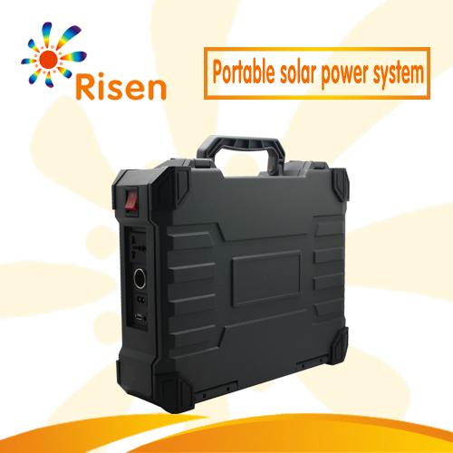 Portable Solar Power System Portable Solar Power Generators Outdoor Camping Solar Power