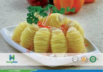 Potato Covered On Pangasius