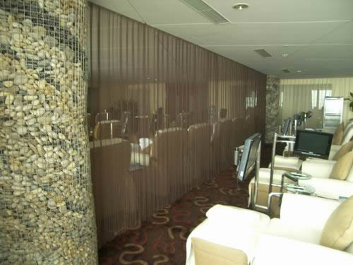 Powder Coated Metal Curtain