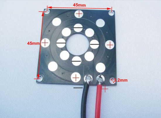 Power Distribution Board Used On Quadcopters Multi Rotors