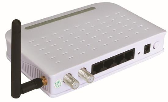 Power Over Coax Eoc Ethernet Modem Hzw E21 01