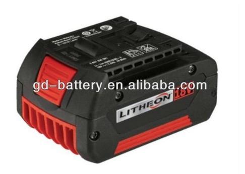 Power Tool Battery For Bosch 18v Li Ion
