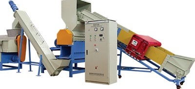 Pp Pe Flakes Recycling Line