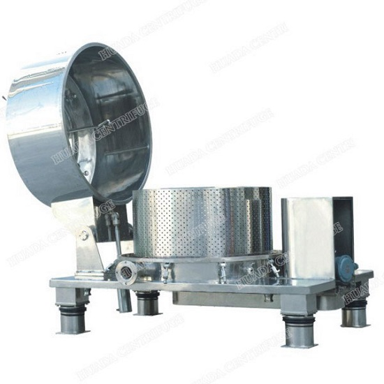 Pqsb Top Discharge Centrifuges With Fully Opening Cover