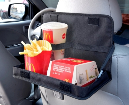Pr 33 Car Tray With Drink Holder