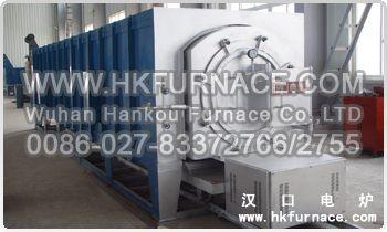 Pre Pumped Vacuum Bogie Hearth Electric Furnace