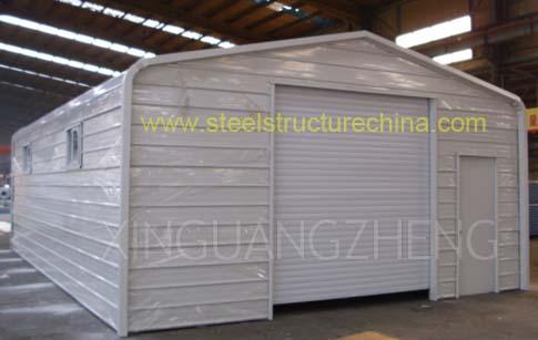 Prefab Metal Garage Kit Building Xinguangzheng
