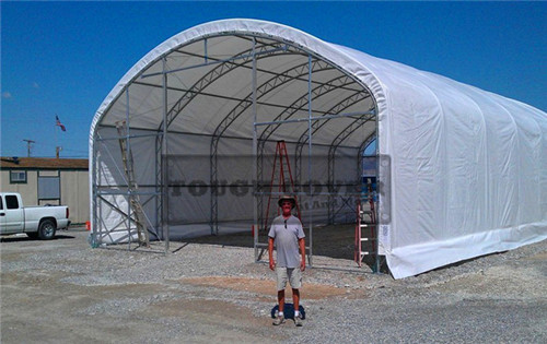 Prefabricated Structure Truss Building Tc40618