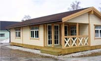 Prefabricated Wood House Wh 4