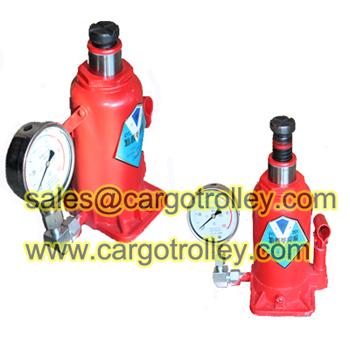 Pressure Gauge Hydraulic Jack Details