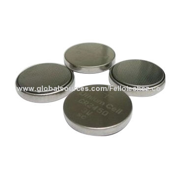 Primary 3 0v Limno2 Button Cell Battery Cr2450 Lithium Car Key Factory Direct Wholesale