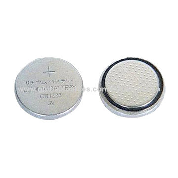 Primary Lithium Manganese Dioxide Button Cell Battery 3v Cr1225 50mah For Watch And Electronic Items