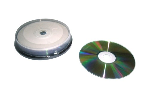 Printable Blank Cd R Up To 52x 80min Silver Shiny With Green Color
