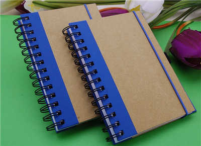 Printed Paper Cover Notebook Spiral Or Wire O