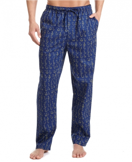 Printed Woven Pajamas 100 Cotton Mens